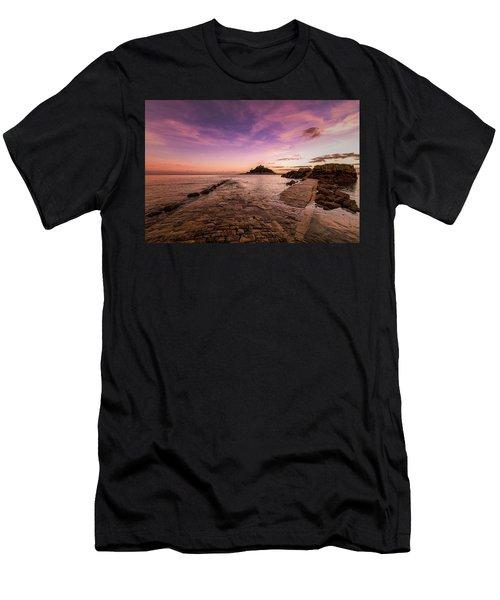 St Michael's Mount - January Men's T-Shirt (Athletic Fit)