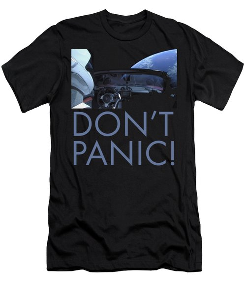 Starman Don't You Panic Now Men's T-Shirt (Athletic Fit)
