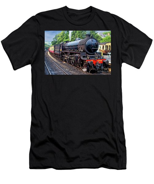 Steam Locomotive 1264 Nymr Men's T-Shirt (Athletic Fit)