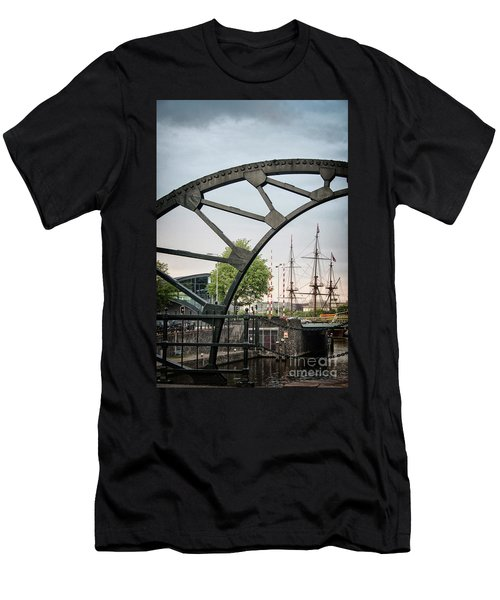 Steel And The Golden Age Men's T-Shirt (Athletic Fit)