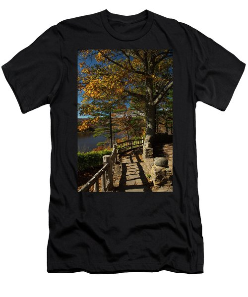 Steps To Autumn Men's T-Shirt (Athletic Fit)