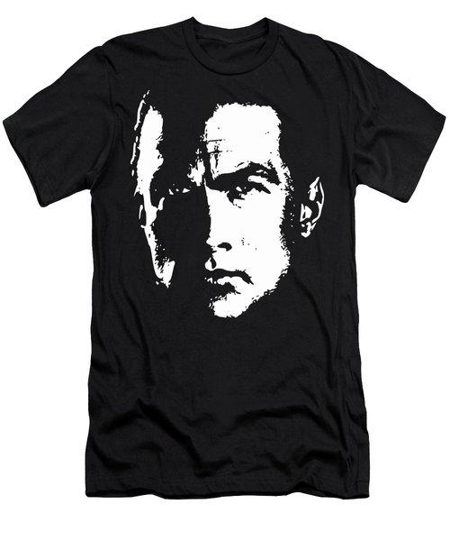 Steven Seagal Minimalistic Pop Art Men's T-Shirt (Athletic Fit)