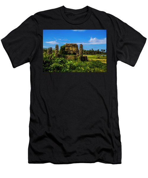 Men's T-Shirt (Athletic Fit) featuring the photograph Stone Oven by Stuart Manning