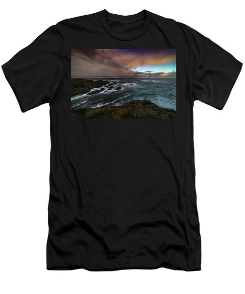 Storm Coastline Men's T-Shirt (Athletic Fit)