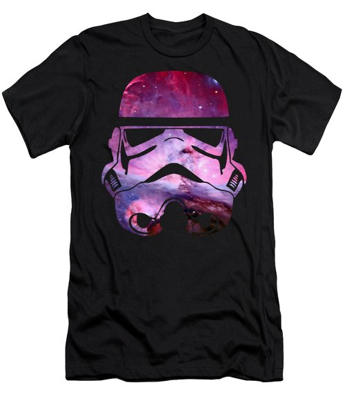 Storm Trooper Nebula Men's T-Shirt (Athletic Fit)