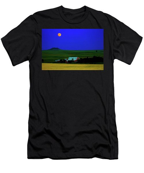 Strawberry Moon Men's T-Shirt (Athletic Fit)