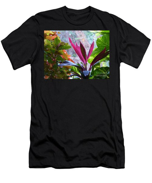 Men's T-Shirt (Athletic Fit) featuring the photograph In The Pink by Rosanne Licciardi