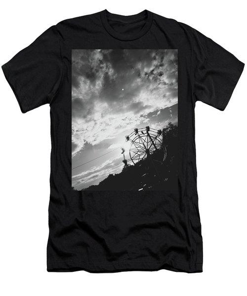 Summertime Wheeling Men's T-Shirt (Athletic Fit)