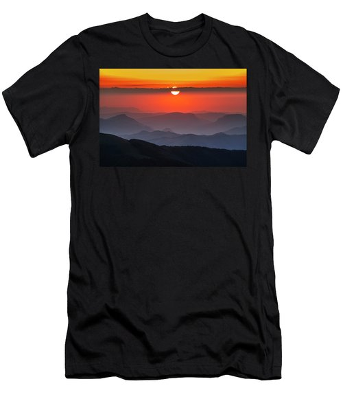 Sun Eye Men's T-Shirt (Athletic Fit)