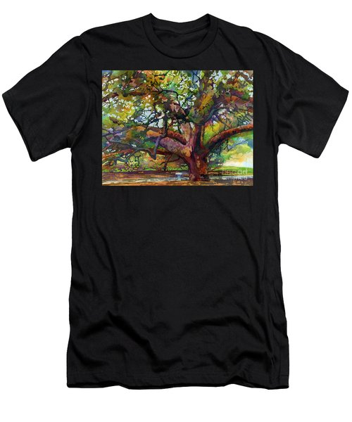Sunlit Century Tree Men's T-Shirt (Athletic Fit)