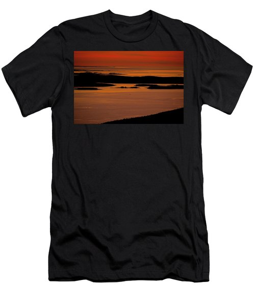 Sunrise Cadillac Mountain Men's T-Shirt (Athletic Fit)