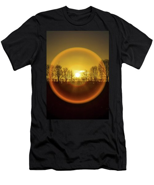 Sunrise. New Years Eve. Men's T-Shirt (Athletic Fit)