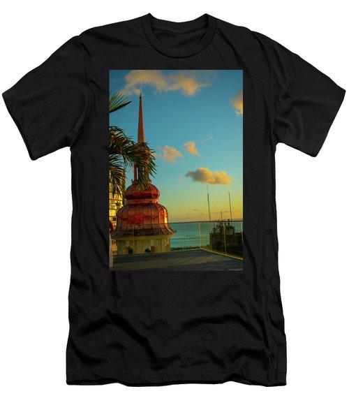 Sunset At Fera Palace Men's T-Shirt (Athletic Fit)