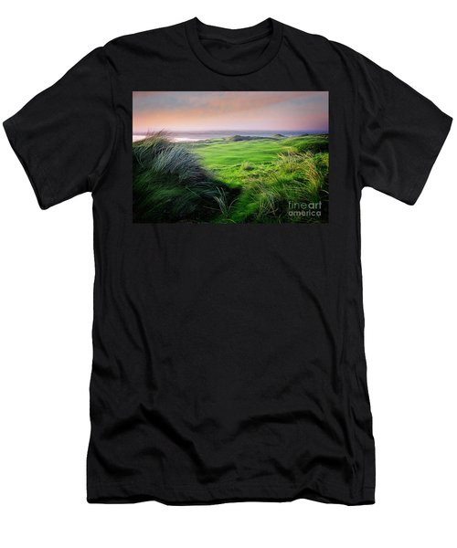 Sunset - Lahinch Men's T-Shirt (Athletic Fit)