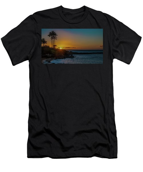 Sunset On Kapalua Men's T-Shirt (Athletic Fit)