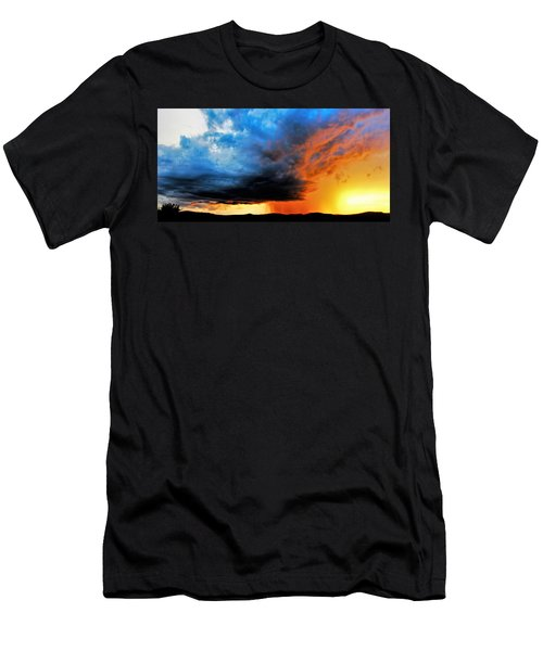 Sunset Storm Men's T-Shirt (Athletic Fit)