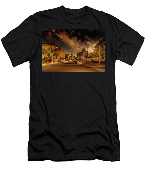 Men's T-Shirt (Athletic Fit) featuring the photograph Sussex Dr by Juan Contreras