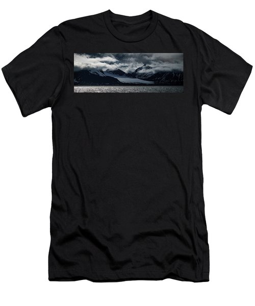 Svalbard Mountains Men's T-Shirt (Athletic Fit)