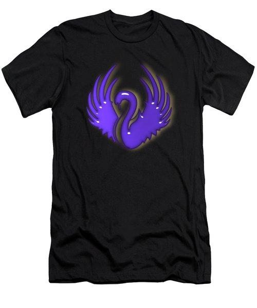 Swan Dance Men's T-Shirt (Athletic Fit)