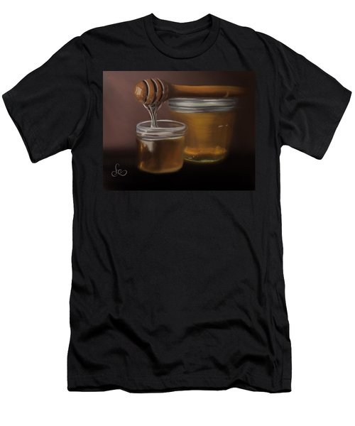 Men's T-Shirt (Athletic Fit) featuring the painting Sweet Honey by Fe Jones