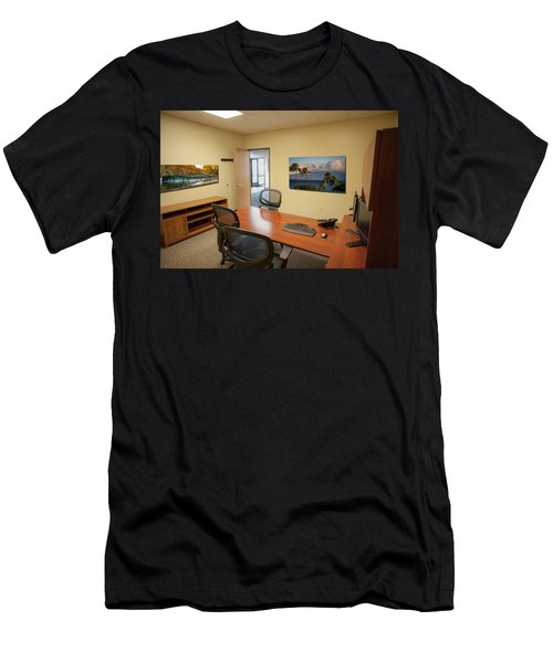 Tamara Office East Wall Men's T-Shirt (Athletic Fit)