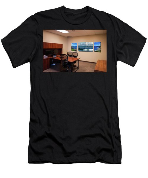 Tamara Office West Wall Men's T-Shirt (Athletic Fit)