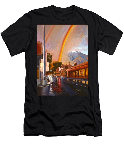 Taos Rainbow Men's T-Shirt (Athletic Fit)
