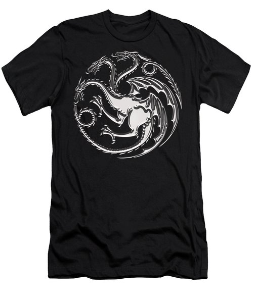 Targaryen Dragon Sigil Men's T-Shirt (Athletic Fit)