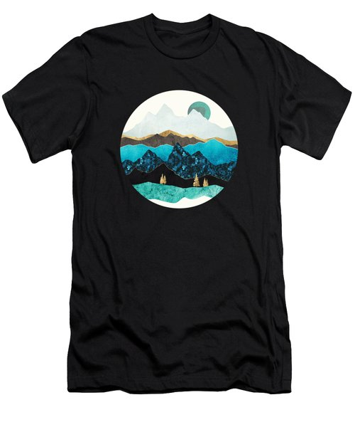 Teal Afternoon Men's T-Shirt (Athletic Fit)