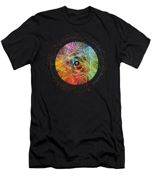 The Art Of The Golden Ratio Phi Men's T-Shirt (Athletic Fit)