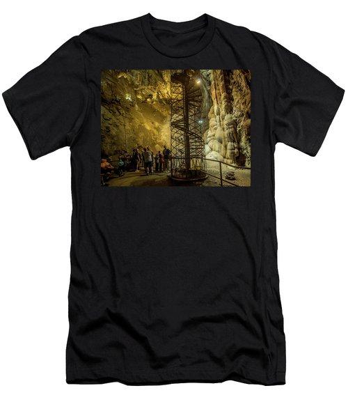 The Bat Cave Men's T-Shirt (Athletic Fit)