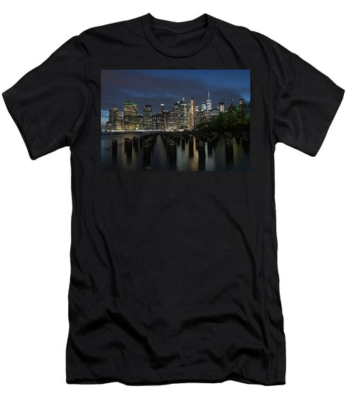 The City Alight Men's T-Shirt (Athletic Fit)