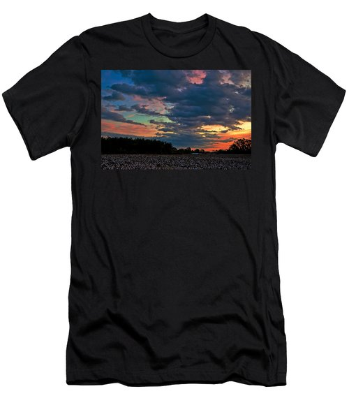 The Cotton Field  Men's T-Shirt (Athletic Fit)