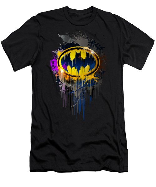 The Dark Knight Of Gotham Men's T-Shirt (Athletic Fit)