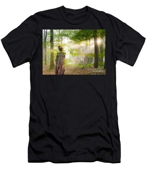 The Enchanted Forrest Men's T-Shirt (Athletic Fit)