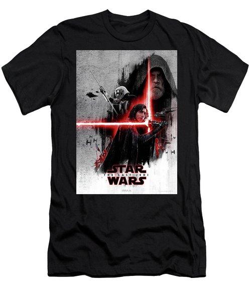 The Last Jedi  Men's T-Shirt (Athletic Fit)