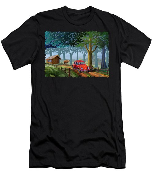 The Little Red Beetle Men's T-Shirt (Athletic Fit)