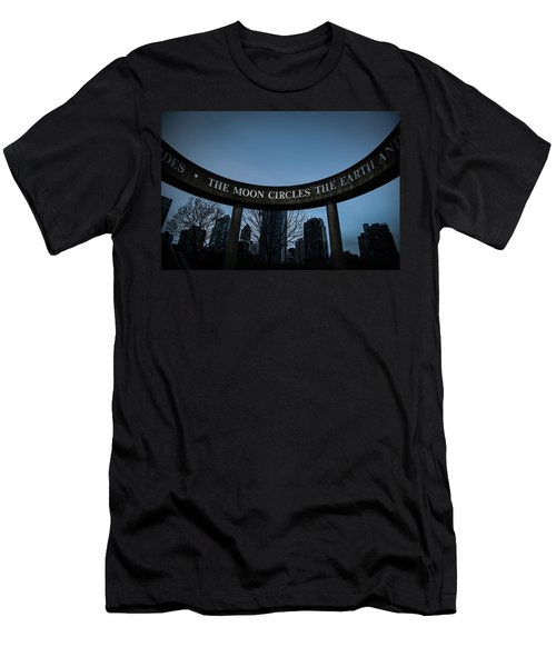 Men's T-Shirt (Athletic Fit) featuring the photograph The Moon Circle by Juan Contreras