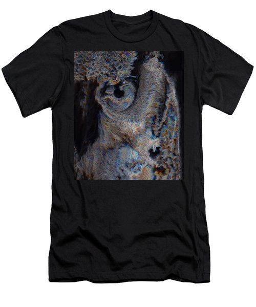 The Old Owl That Watches Men's T-Shirt (Athletic Fit)