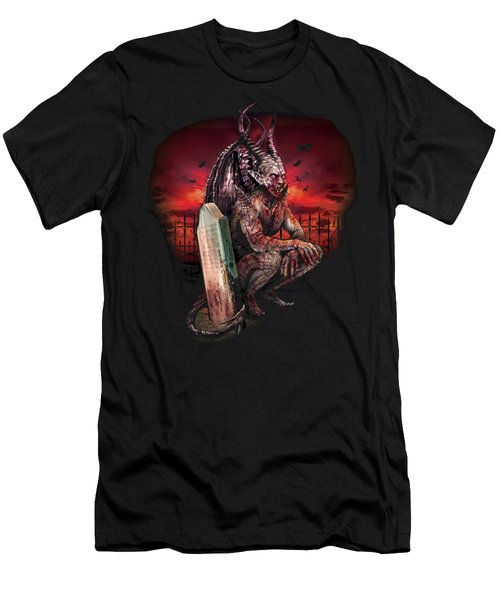 The Silent Howling Men's T-Shirt (Athletic Fit)