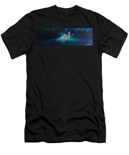 The Wedge - Duck Dive Men's T-Shirt (Athletic Fit)
