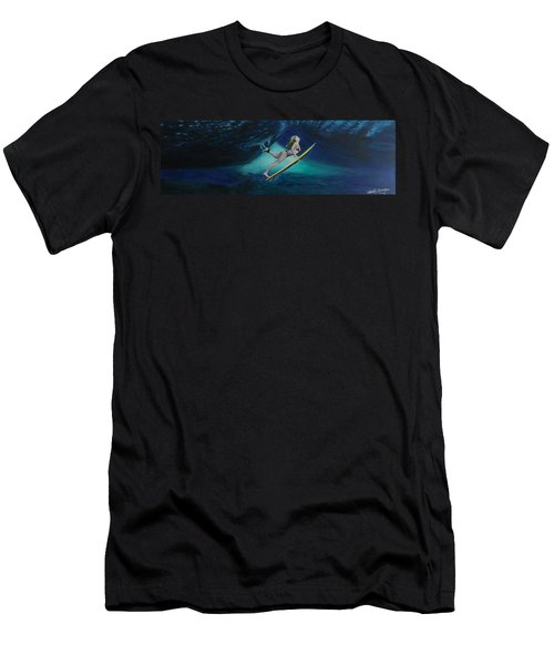 The Wedge - Duck Dive Men's T-Shirt (Athletic Fit)