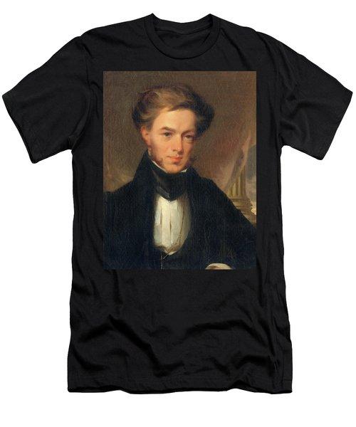 Portrait Of Thomas Ustick Walter, 1835 Men's T-Shirt (Athletic Fit)