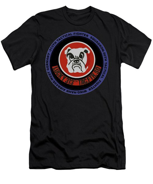 The 313th Tactical Fighter Squadron Men's T-Shirt (Athletic Fit)