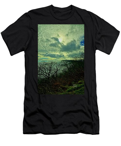 Thunder Mountain Clouds Men's T-Shirt (Athletic Fit)