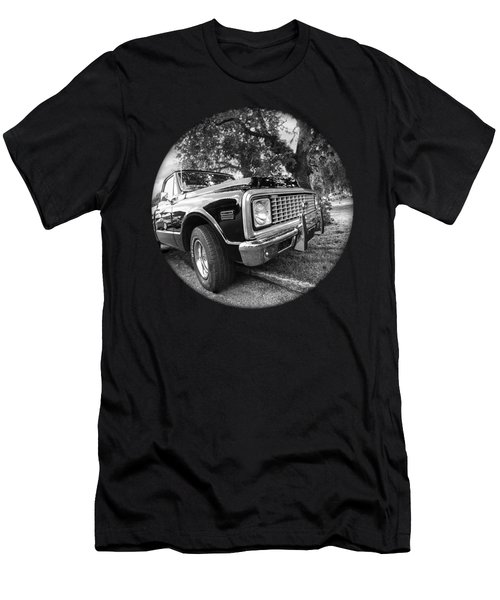 Time Portal - '71 Chevy Men's T-Shirt (Athletic Fit)