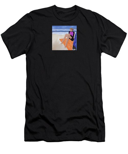 Toes In The Sand Men's T-Shirt (Athletic Fit)