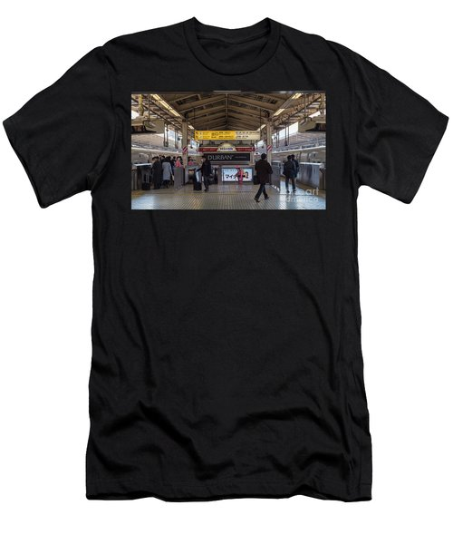 Tokyo To Kyoto Bullet Train, Japan 2 Men's T-Shirt (Athletic Fit)