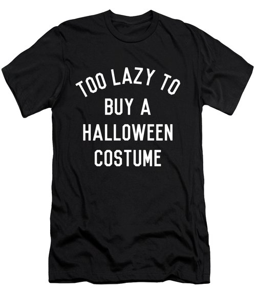 Too Lazy To Buy A Halloween Costume Men's T-Shirt (Athletic Fit)