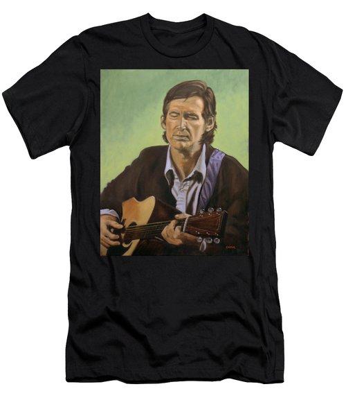 Townes Van Zandt Men's T-Shirt (Athletic Fit)
